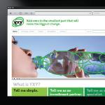 YXY website screenshot-1